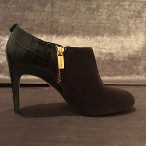 Michael Kors 6.5 Sammy Leather Ankle booties Brown